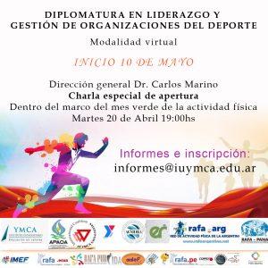 Dipl. en Liderazo y Gestion de Organizaciones del deporte