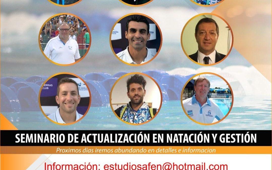 Seminario de Actualización en Natación y su gestión