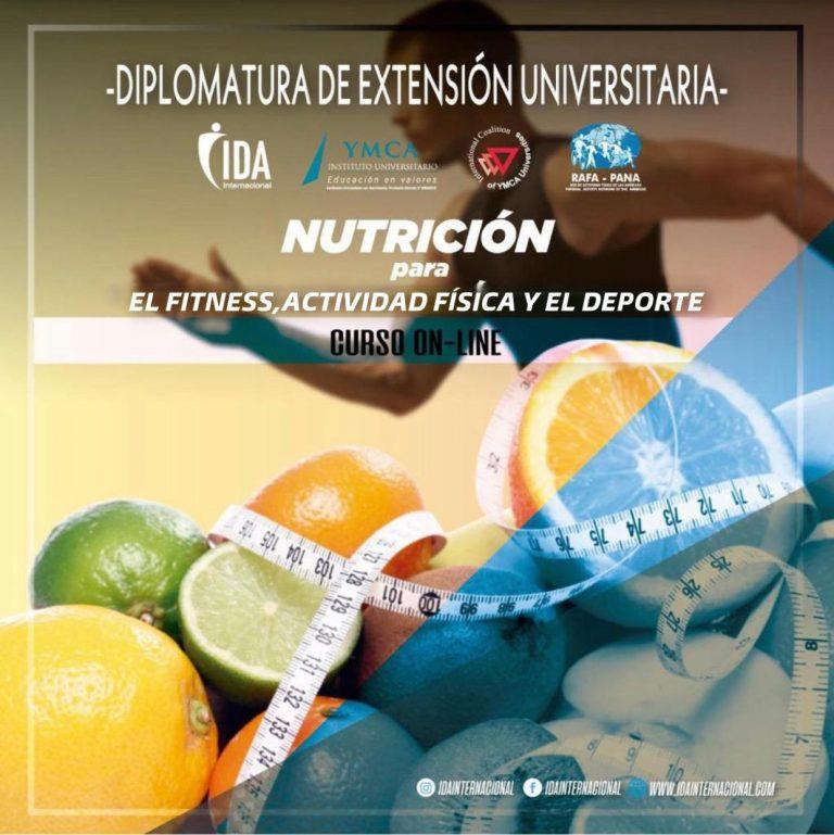 Nutrición para el fitness, actividad física y el deporte