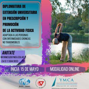 Diplomatura En prescripción y promoción de la actividad física adaptada a las personas con enfermedades crónicas no transmisibles