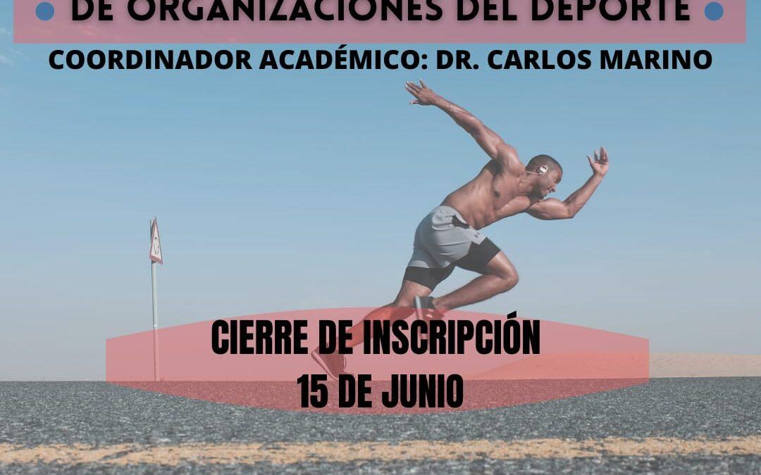 Diplomatura Gestión y Liderazgo Organizativa del Deporte
