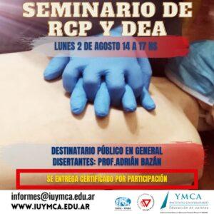 Seminario de RCP Y DEA