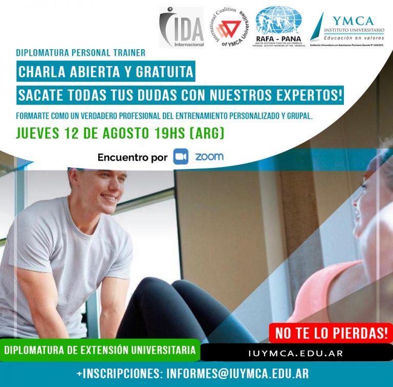Flyer Charla Personal Trainer- PRUEBA