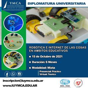 Diplomatura Robótica e internet de las cosas en ámbito educativo